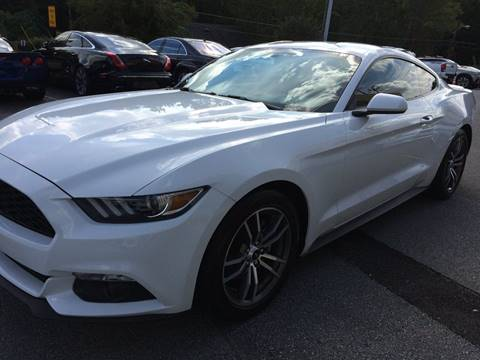 2016 Ford Mustang for sale at Highlands Luxury Cars, Inc. in Marietta GA