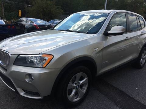 2011 BMW X3 for sale at Highlands Luxury Cars, Inc. in Marietta GA