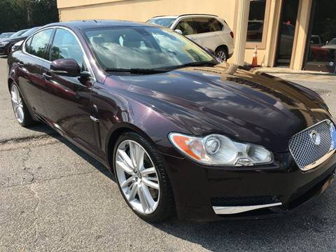 2011 Jaguar XF for sale at Highlands Luxury Cars, Inc. in Marietta GA
