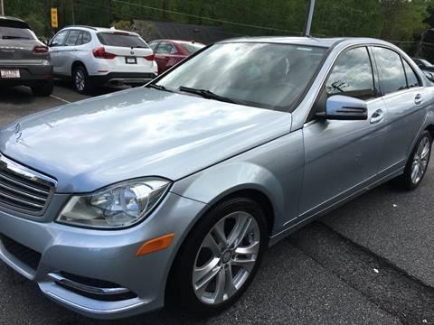 2013 Mercedes-Benz C-Class for sale at Highlands Luxury Cars, Inc. in Marietta GA