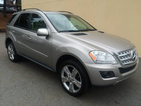 2009 Mercedes-Benz M-Class for sale at Highlands Luxury Cars, Inc. in Marietta GA