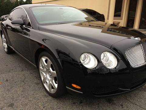 2006 Bentley Continental GT for sale at Highlands Luxury Cars, Inc. in Marietta GA