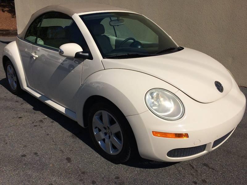 2007 Volkswagen New Beetle for sale at Highlands Luxury Cars, Inc. in Marietta GA