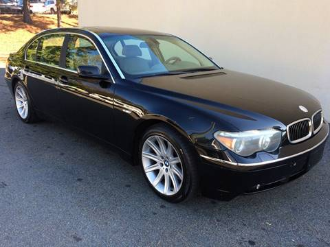 2004 BMW 7 Series for sale at Highlands Luxury Cars, Inc. in Marietta GA
