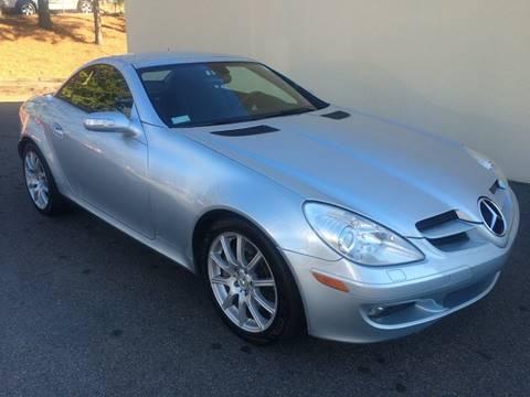 2005 Mercedes-Benz SLK for sale at Highlands Luxury Cars, Inc. in Marietta GA
