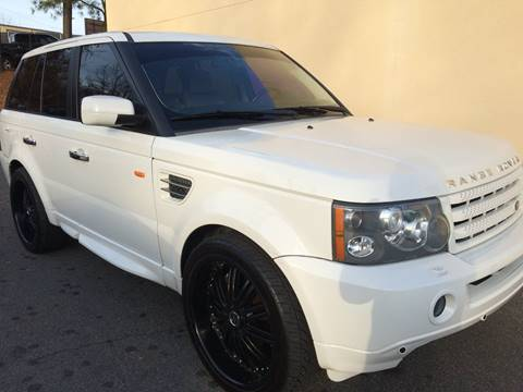 2007 Land Rover Range Rover Sport for sale at Highlands Luxury Cars, Inc. in Marietta GA