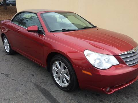 2008 Chrysler Sebring for sale at Highlands Luxury Cars, Inc. in Marietta GA
