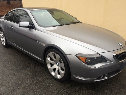 2005 BMW 6 Series for sale at Highlands Luxury Cars, Inc. in Marietta GA