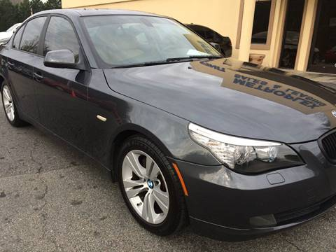 2010 BMW 5 Series for sale at Highlands Luxury Cars, Inc. in Marietta GA