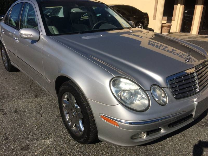 2004 Mercedes-Benz E-Class for sale at Highlands Luxury Cars, Inc. in Marietta GA
