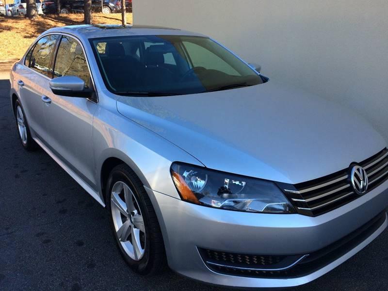 2012 Volkswagen Passat for sale at Highlands Luxury Cars, Inc. in Marietta GA