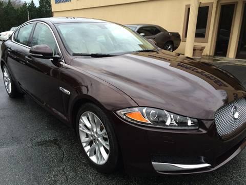 2013 Jaguar XF for sale at Highlands Luxury Cars, Inc. in Marietta GA