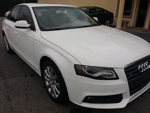 2010 Audi A4 for sale at Highlands Luxury Cars, Inc. in Marietta GA