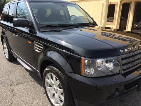 2008 Land Rover Range Rover Sport for sale at Highlands Luxury Cars, Inc. in Marietta GA