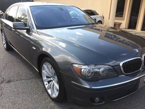 2008 BMW 7 Series for sale at Highlands Luxury Cars, Inc. in Marietta GA