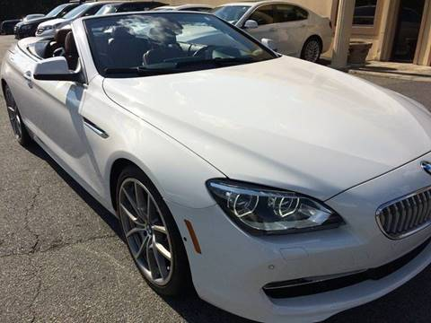 2012 BMW 6 Series for sale at Highlands Luxury Cars, Inc. in Marietta GA