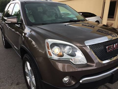 2008 GMC Acadia for sale at Highlands Luxury Cars, Inc. in Marietta GA