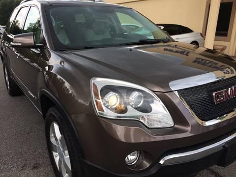 2008 GMC Acadia for sale at Highlands Luxury Cars, Inc. in Marietta GA