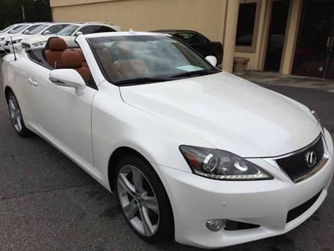 2013 Lexus IS 250C for sale at Highlands Luxury Cars, Inc. in Marietta GA
