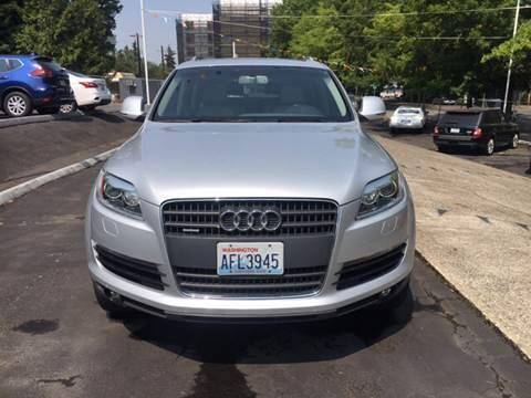 2008 Audi Q7 for sale in Seattle WA