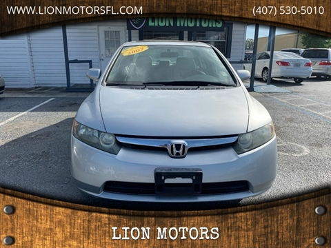 2007 Honda Civic for sale in Kissimmee, FL