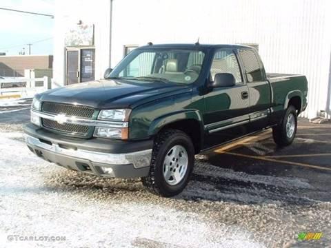 2004 Chevrolet Silverado 1500 for sale at Lundy Motors in South Hill VA
