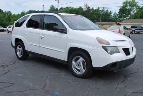 2002 Pontiac Aztek for sale in South Hill, VA