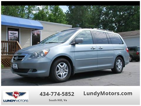 2007 Honda Odyssey for sale in South Hill, VA