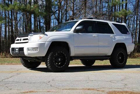 2004 Toyota 4Runner for sale at Lundy Motors in South Hill VA