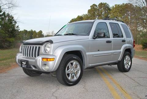 2003 Jeep Liberty for sale at Lundy Motors in South Hill VA