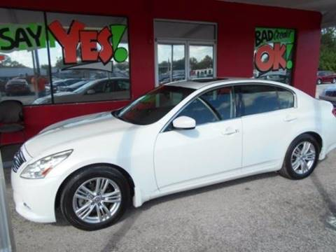 2012 Infiniti G25 Sedan for sale in Orlando, FL