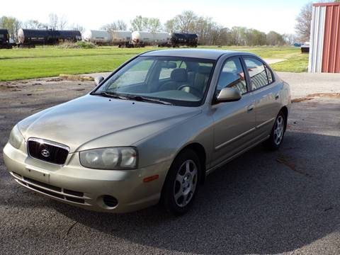 2001 Hyundai Elantra for sale in Kentland, IN