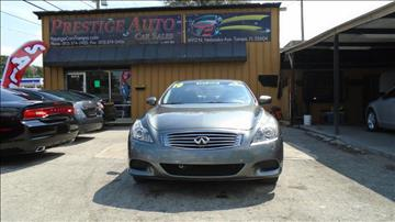2010 Infiniti G37 Coupe for sale in Tampa, FL