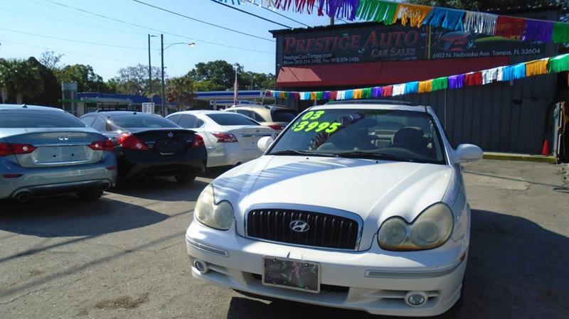 2003 Hyundai Sonata GLS 4dr Sedan   Tampa FL