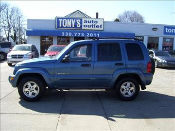 2003 Jeep Liberty for sale in Akron, OH