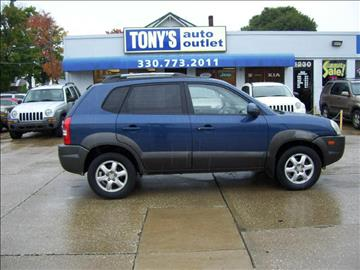 2005 Hyundai Tucson for sale in Akron, OH