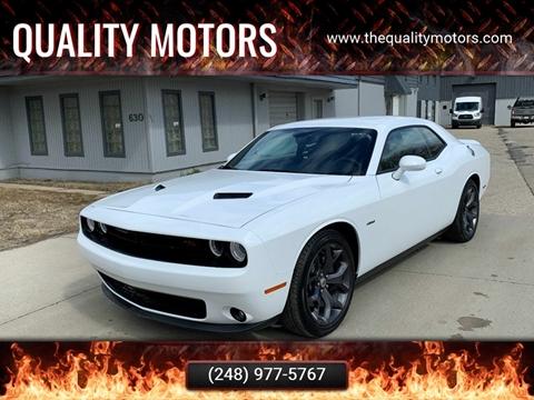 Cars For Sale in Pontiac, MI - Quality Motors