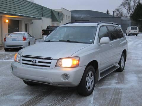 2005 Toyota Highlander for sale in Pontiac, MI
