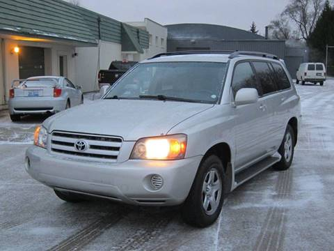 2004 Toyota Highlander for sale in Pontiac, MI