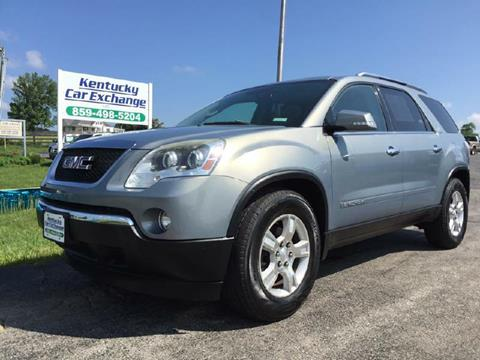 2007 GMC Acadia for sale in Mount Sterling, KY