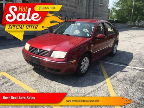 2005 Volkswagen Jetta for sale at Best Deal Auto Sales in Saint Charles MO
