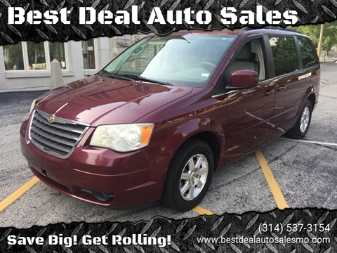 2008 Chrysler Town and Country for sale at Best Deal Auto Sales in Saint Charles MO