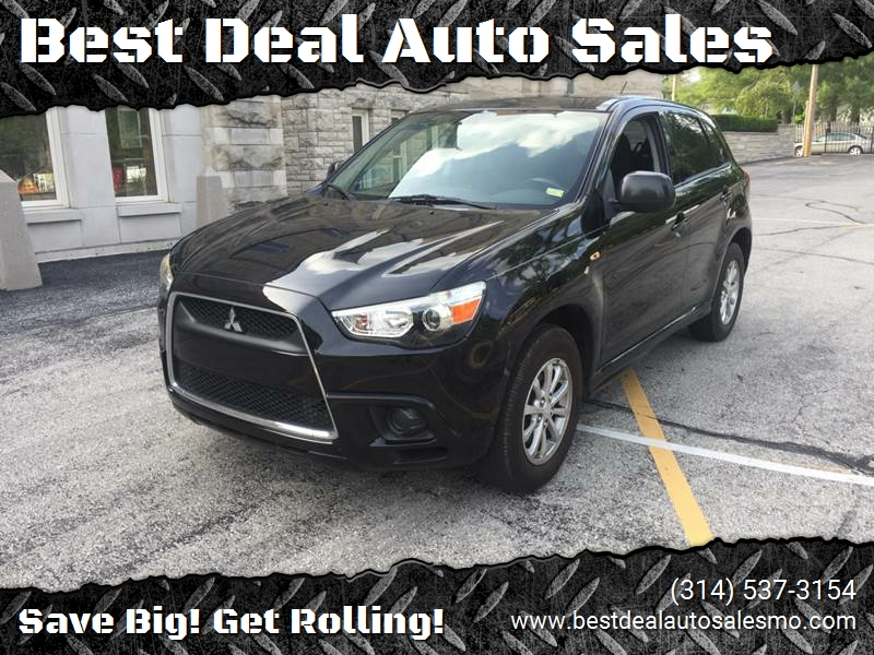 2011 Mitsubishi Outlander Sport for sale at Best Deal Auto Sales in Saint Charles MO