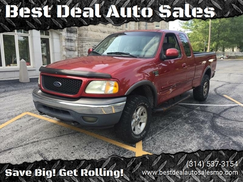 2002 Ford F-150 for sale at Best Deal Auto Sales in Saint Charles MO