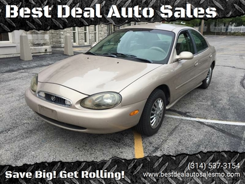 1999 Mercury Sable for sale at Best Deal Auto Sales in Saint Charles MO
