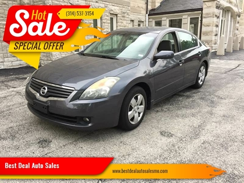2007 Nissan Altima for sale at Best Deal Auto Sales in Saint Charles MO