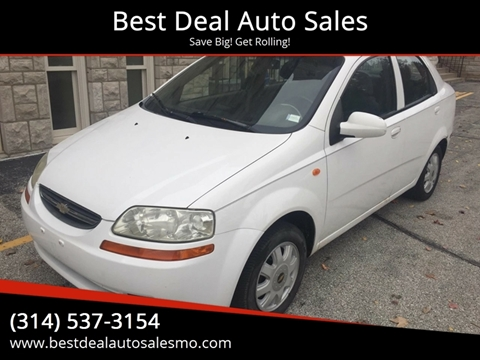 Chevrolet Aveo For Sale In Saint Charles Mo Best Deal Auto Sales