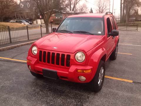 2002 Jeep Liberty for sale at Best Deal Auto Sales in Saint Charles MO