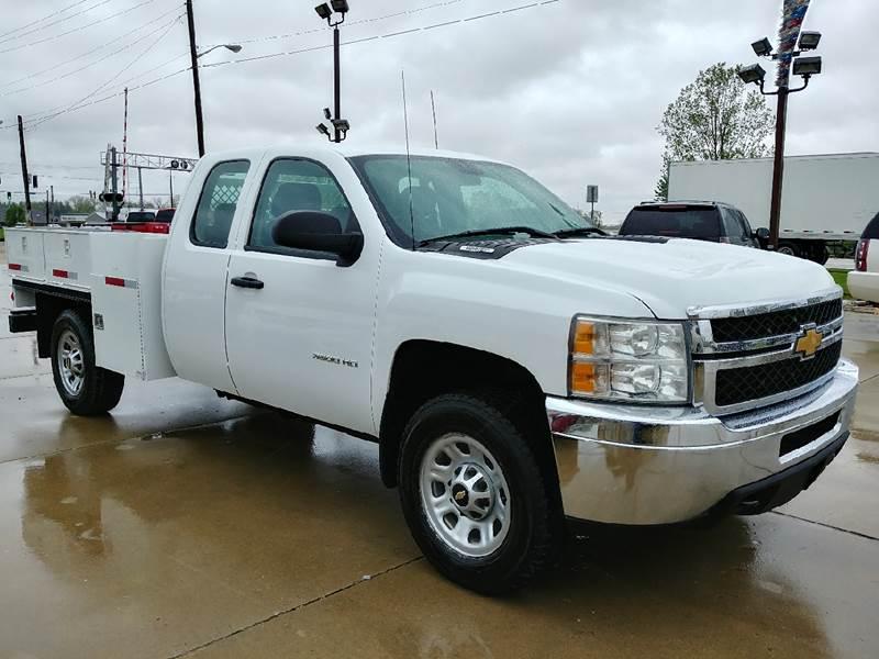 2012 Chevrolet Silverado 3500HD for sale at Johnson's Auto Sales Inc. in Decatur IN