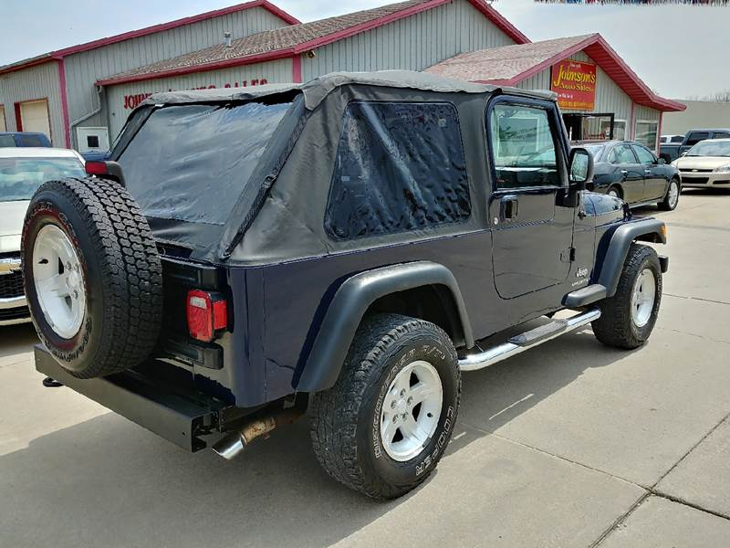 2006 Jeep Wrangler for sale at Johnson's Auto Sales Inc. in Decatur IN